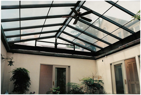 Belaire engineering architectural awnings company for Residential atrium